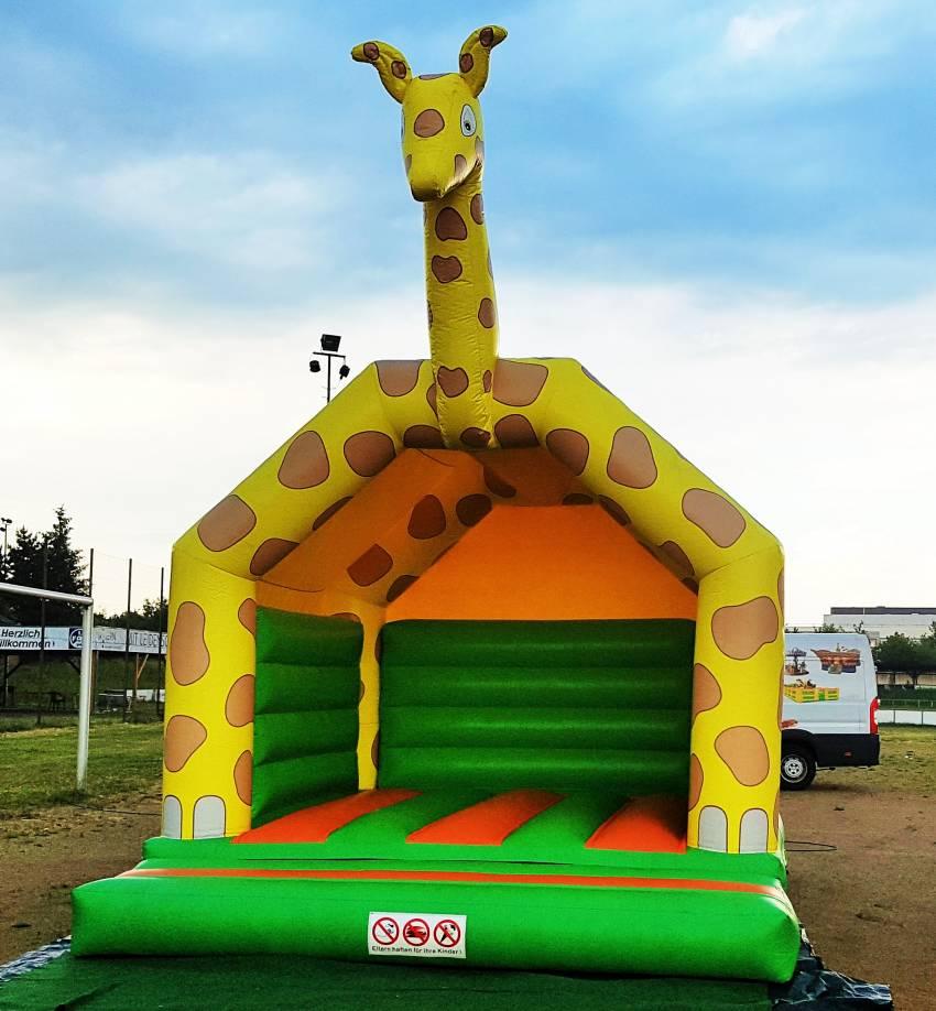 Hüpfburg Giraffe Darmstadt