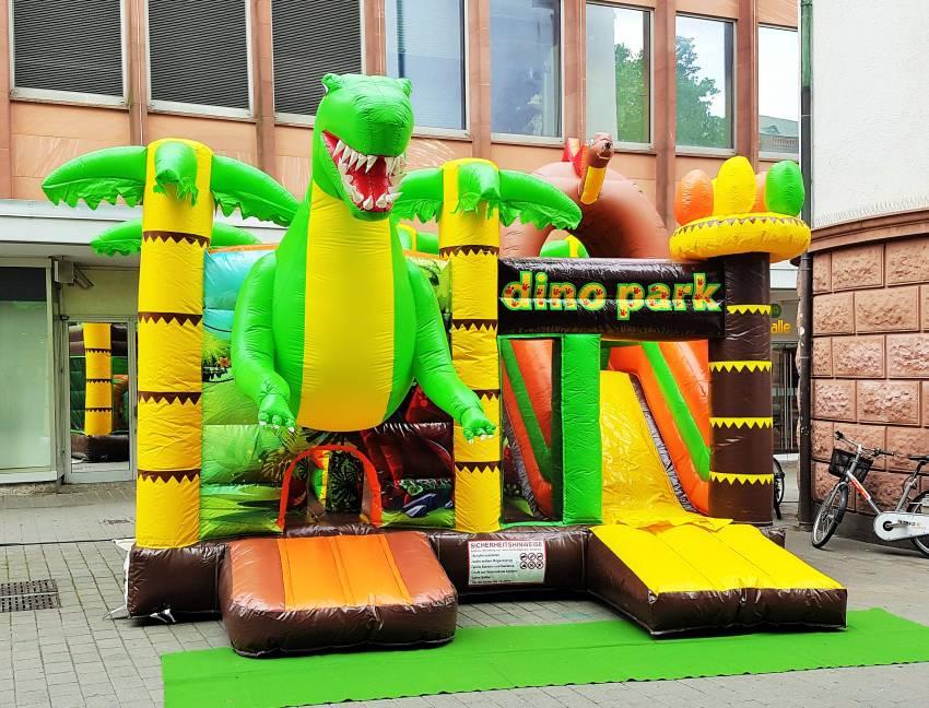 Hüpfburg Dino mieten in Darmstadt