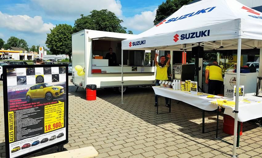 Suzuki Swift Sport Premiere bei Auto Dörr Brensbach